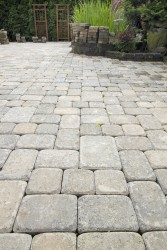 Block Paved Patio